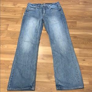 "BKE ""Tyler"" light washed jeans size 32X34"